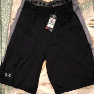 NWT Black Under Armour Shorts